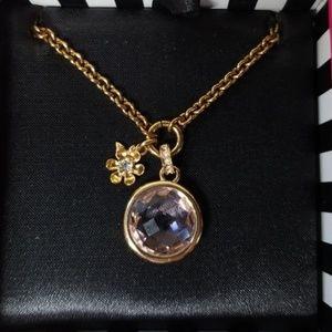 NIB Juicy Couture Gemstone Charm Necklace